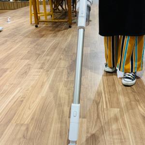 【Panasonic】最新コードレス掃除機はすご~く軽量なのに吸引力がすご~く強い!実際に使ったレポ