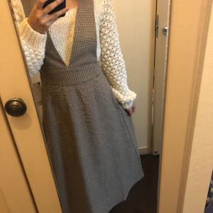 【GU】チェックジャンパードレスが更に可愛くなって登場!完売前にお店へ急げ~!!