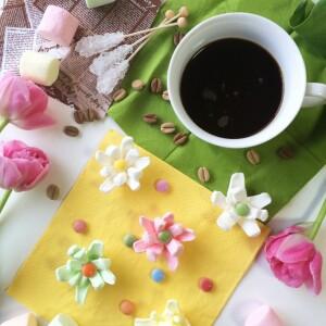 話題のマシュマロを手作り♡表参道店ドミニクアンセルような珈琲に浮かぶ【花咲くマシュマロ】の作り方♡