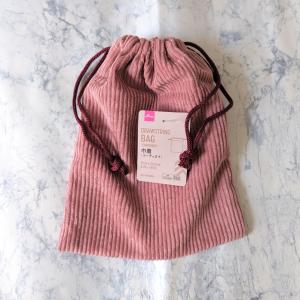 【ダイソー】秋にぴったりなコーデュロイ素材のバッグ&ポーチが入荷中!どれも可愛すぎる~♡