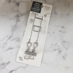 【セリア】キッチン手袋を吊り下げて乾かすグッズを発見!使ってみたら想像以上に便利だった!!