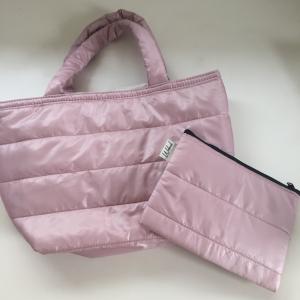 【ダイソー】キルティング素材のバッグやポーチがかわいい♡軽くて使いやすいのもポイント♪