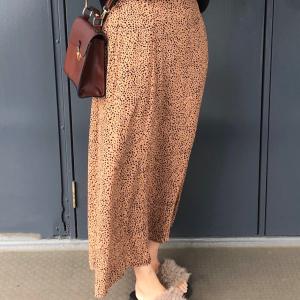【しまむら】ダルメシアン柄のAラインスカートがまさかの900円!?なくなる前にお店へ急げ~!