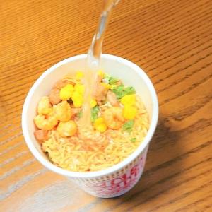 台風でもしも停電になっても、ガスが止まっても…カップ麺は水で作れるんです!