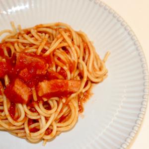 【料理上手の裏側】まるで昭和な喫茶店の味!「トマトスパゲティ」がトマト一直線なウマさで悶絶級