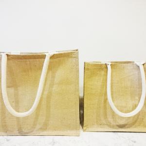 【無印良品】大人気の「ジュートマイバッグ」が再販!買い物だけでなく、収納にも使える超優秀バッグ♪