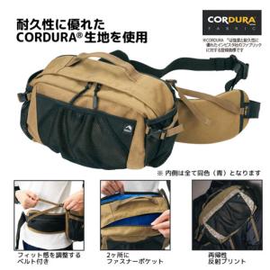 【ワークマン】驚くほど荷物が入る「コーデュラボディーバック」は負担を感じにくい優良バッグ