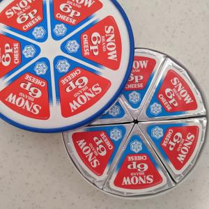 雪印メグミルクの「6Pチーズ」が大きいクッションに!?プレゼントキャンペーンでもらえる!