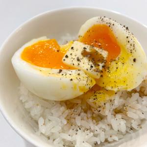 【リュウジさんレシピ】1日で20万いいね超えの「半熟ゆで卵かけご飯」を実際に作ってみた!