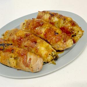 【北斗晶レシピ】甘辛なタレがそそる「肉巻きおにぎり」がウマ過ぎた!高菜ご飯がお肉とマッチ!