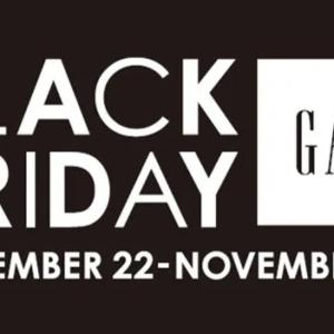 【SALE情報】どんな戦利品をゲットする?「Gap」のブラックフライデーが待ち遠しい!イベントも開催