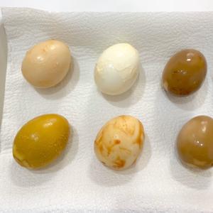 【味漬け玉子選手権】家にある定番調味料6種類でゆで卵を「漬けて」みた!ベストなお味の「味玉」は?