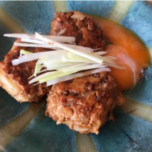 【キユーピー公式レシピ】焼いても、鍋に入れても!マヨネーズでやわら~な「鶏つくね」がふわっふわ