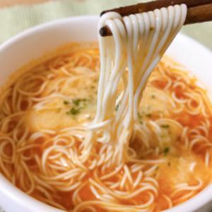 【コンビニかけ合わせグルメ】お手軽ヘルシー「トマト豆腐にゅうめん」はお夜食の救世主!
