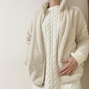 【ユニクロ】ゆったり着れて暖かい「ファーリーフリースフルジップジャケット」の着心地が最高すぎる♡