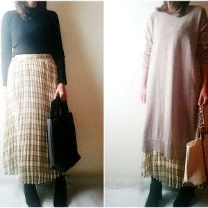 【GU】1,990円→190円に!?可愛い「チェックプリーツロングスカート」が衝撃の安さに!!