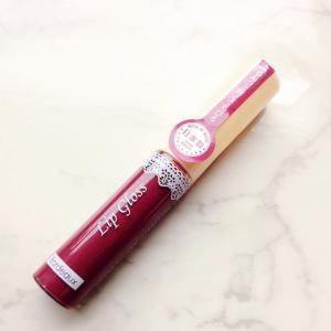 【ダイソー】の「リップグロスF D ボルドー」が優秀すぎる♡大人っぽい深みのあるカラーがポイント!