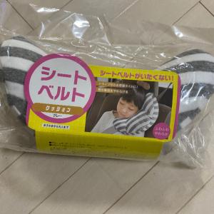 長距離ドライブの強い味方!子どもがぐっすり眠れる「シートベルトクッション」が超優秀♪