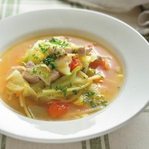 【料理の裏ワザ】「鍋キューブ」でスープパスタが簡単!サッと煮るだけでこっくり奥深~いスープの味わい