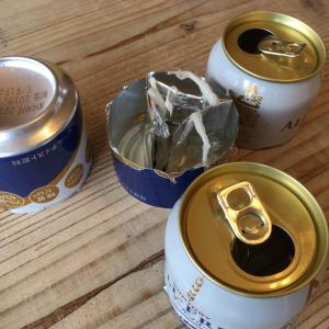 【災害時の知恵】缶とアルミホイルで「簡易コンロ」を作ってみた!燃料はサラダ油で…「あ、火が着いた!」