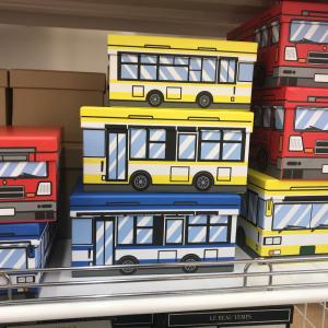 【ダイソー 】収納に便利なフタ付きの「紙BOX」を発見!絵柄もサイズも豊富なのがうれしい♪