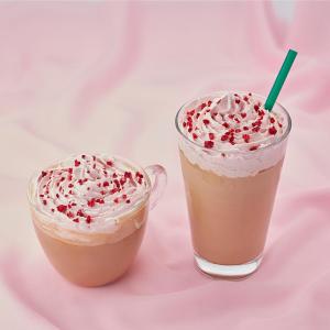 【タリーズ】話題のルビーチョコを使用した「ルビーチョコ&ホワイトモカ」が登場!さっそく飲んでみた♡