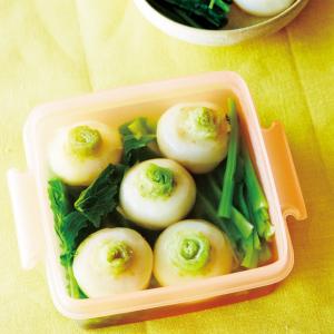 【旬野菜で作り置き】かぶを丸ごと使った「かぶのだし煮」レシピ!だし汁ジュワ~ンの口福!
