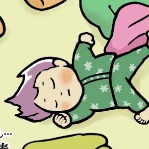 広~くないとイヤ!子どもは寝るときに大きなスペースを陣取る【育児あるある図鑑File.62】