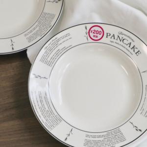 【ダイソー】「パンケーキ」シリーズの食器がカフェ風でおしゃれ♡