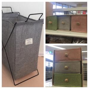 【ダイソー】シンプルな布製の収納アイテムがめちゃくちゃ便利!種類豊富なのも助かる~♪