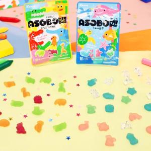 子どもの五感を刺激する!親子で遊べるカンロ「あそぼん!グミ」が2020春に登場!【試食レポ】