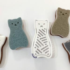 【3COINS】ネコ型の「野菜すりおろし器」が激かわ♡人気のキッチンスポンジと、あわせ買い推奨!