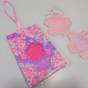 【ダイソー】お家でも春を感じたい!桜の香りの「エアーフレッシュナー」&「フレグランスサシェ」