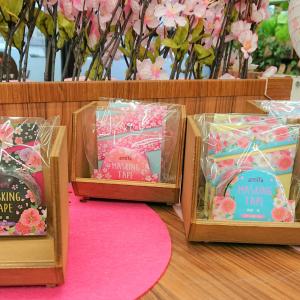【Watts(ワッツ)】「桜 マスキングテープ」はシックで上品な柄が美しい使い勝手良いマステだった!
