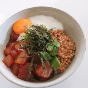【健康食材だらけ】ネバネバ好き必見!ランチにもおすすめ簡単ばくだん丼