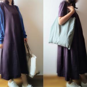 【GU】今買って夏まで着られる!Aラインワンピースが可愛い