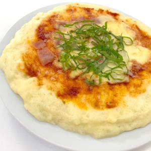 オーブンいらず!材料4つでピザ生地が作れる「レンジだけ!もちもちピザ」を親子で作ってみよう