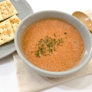 """3分あれば作れる「トマトチーズポタージュ」はパンにつけると""""あの味""""に!?"""