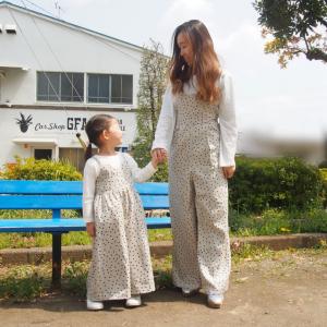 【GU】おうちコーデに最適!親子コーデも叶う楽ちん可愛いサロペットを発見!