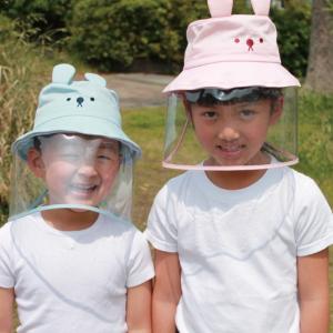マスクをしてくれなくて困っているママ必見!飛沫対策ガード帽子でウィルス対策