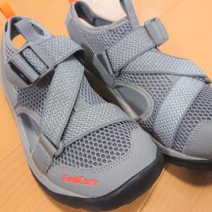 【ワークマン】足にフィットするスニーカー感覚の「フィールドサンダル」は夏にぴったり!