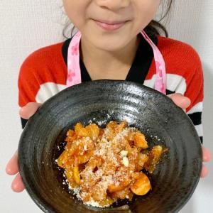 """子どもの料理デビューに!ケチャップ味の""""魚肉ソーセージのカレー炒め""""を作ろう"""