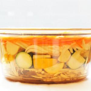 【最強の作り置き】夏野菜ズッキーニで重ね煮で作るイタリアンなアレンジ3品