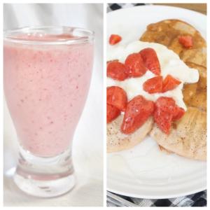 イチゴをまだまだ楽しみたい!冷凍イチゴを使った「シェイク」と「パンケーキ」がおいしくてかわいい