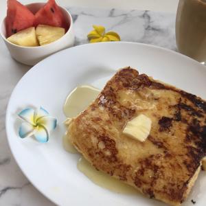 簡単なのに絶品「至高のフレンチトースト」レシピ|少しのコツでまるで表参道のあのお店の味に!?