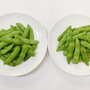 枝豆のおいしい加熱法|茹でる?それとも蒸し焼き?どちらが豆の風味がよいのか比較してみた