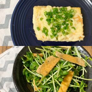 厚揚げ豆腐の新しい食べ方|厚揚げ豆腐1袋で2種類レシピ「豆腐ステーキ」と「ヘルシーサラダ」