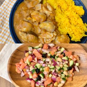 食べて美肌に!2種類のスパイスで作る、女性に嬉しい夏野菜カレー&サラダ