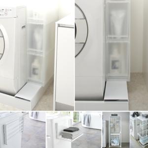 毎日の洗濯を快適にする収納グッズ3選|洗濯機周りのデッドスペースを有効活用がカギ