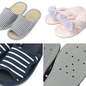 裸足より快適!ニトリの機能的スリッパ3選|夏場で足裏の汗が気になる人は試してみる価値あり